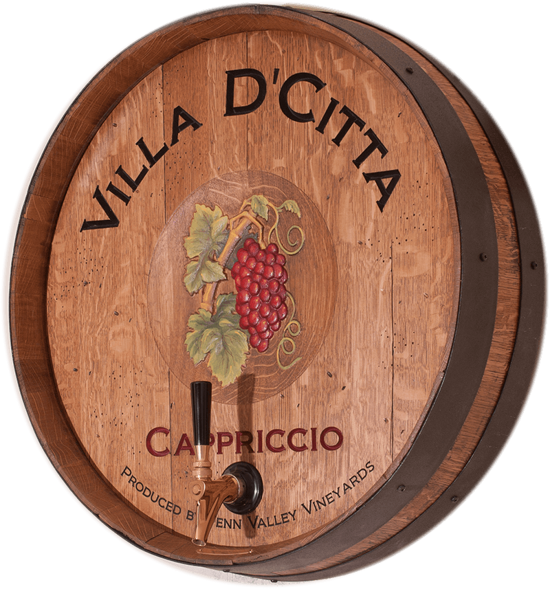 Villa DCitta Winery Barrel Head Tap by eWoodArt