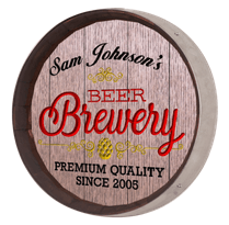 Beer Barrel Sign - Brewery