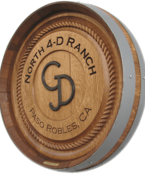 Barrel Carving - Western & Ranch with Border