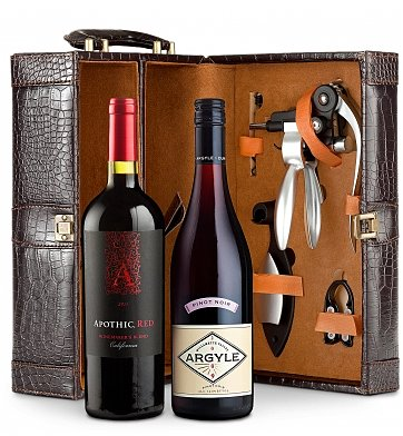 Gift Tree Deluxe Dual Wine Tote