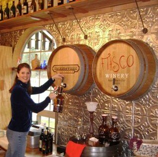 Wine On Tap Barrel Carving -Jacksonville Fiasco Winery