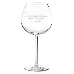 things remembered personalized wine glass
