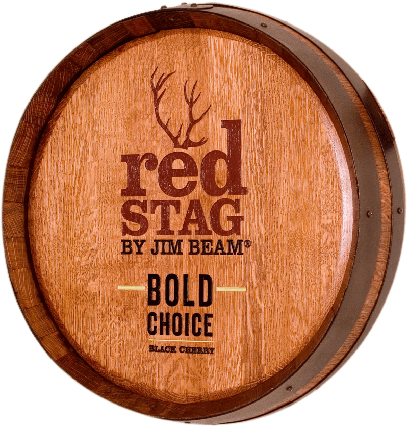 Red Stag Whiskey Barrel Carving