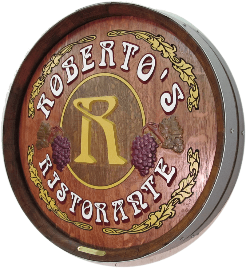 Robertos Ristorante Barrel Carving