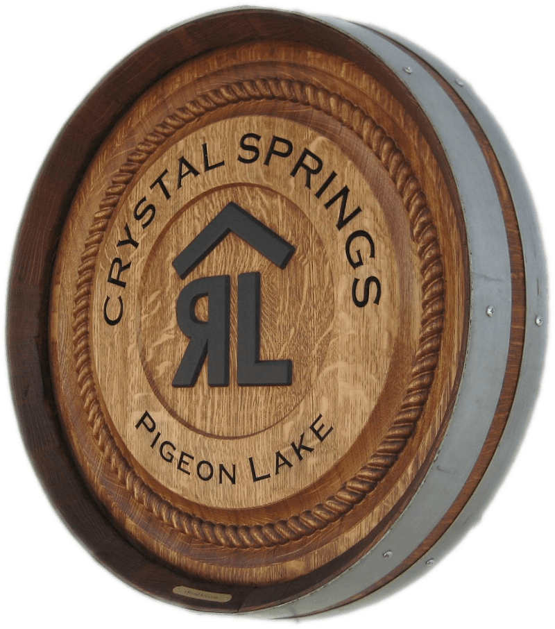 Ranch Brand Barrel Carving