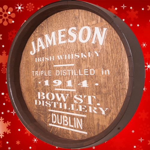 Sixteenth Whiskey Barrel Jameson