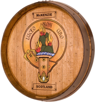 B6-McKenzie-Family-Crest-Barrel-Head-Carving