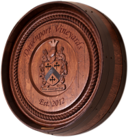 C3-Davenport-Coat-Of-Arms-Barrel-Carving