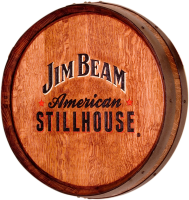 A4-Jim-Beam-StillHouse-Whiskey-Barrel-Head-Carving