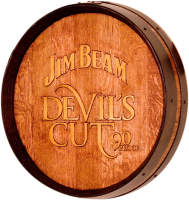 A5-Jim-Beam-Devils-Cut-Whiskey-Barrel-Head-Carving