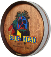 D1-Blue-Head-Tequila-Whiskey-Barrel-Head-Carving