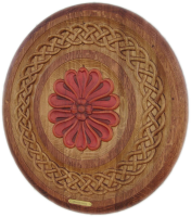 F1-Rosette-Celtic-Barrel-Head-Carving