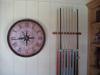 A5-CompassRose-Gameroom-Wine-Clock