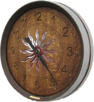 B3-Sunburst-Arabic-Wine-Clock
