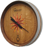 C4-Sunburst-Simple-Dial-Wine-Clock