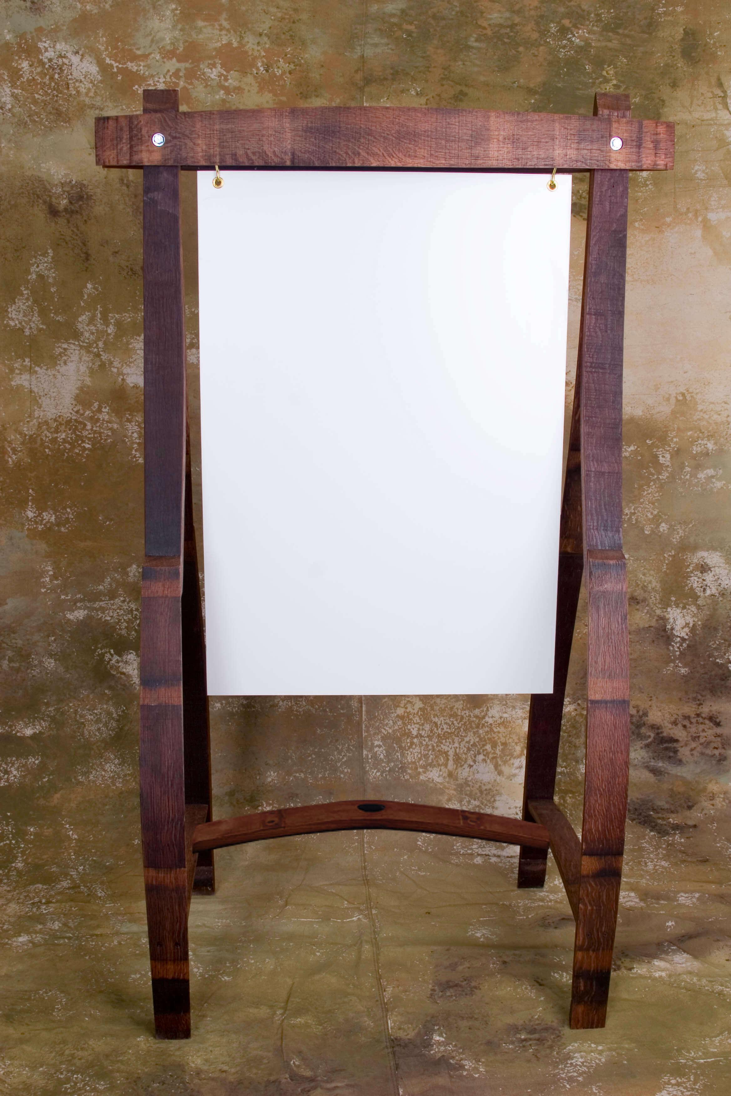 Wine Barrel Chalkboard 5 A Frame Easel Floor Sign Ewoodart Standing