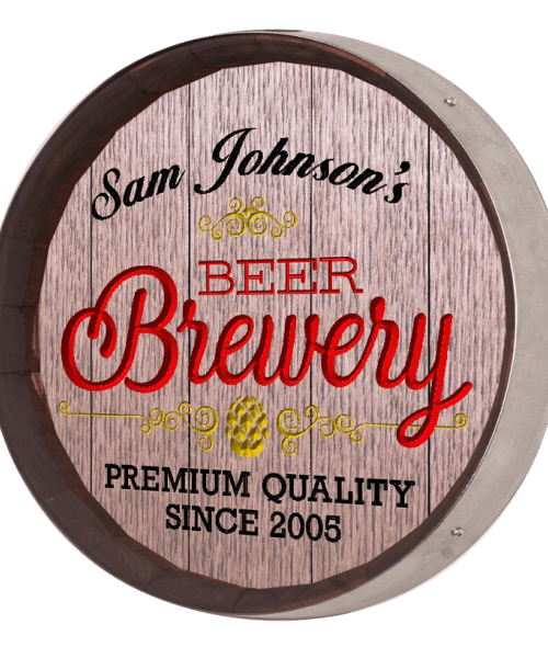 Beer Barrel Sign - Brewery