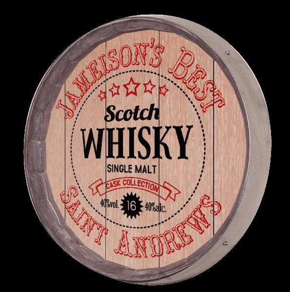 Whiskey Barrel Sign - Scotch