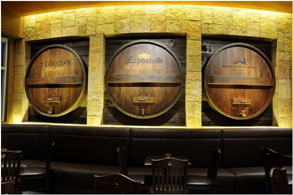 Wine Barrel Wall Decor wine barrel decor. excellent wine barrel wine rack with wine