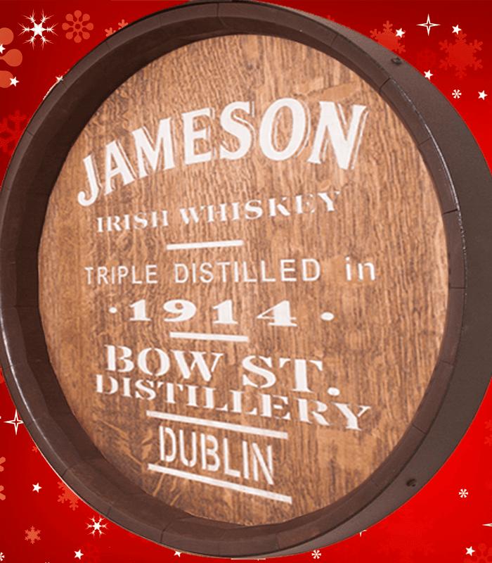 Sixteenth Whiskey Barrel Jameson