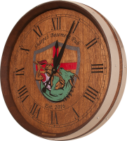 A0-Sharp-Coat-of-Arms-Barrel-Clock