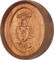 A0-Stappleton-Coat-of-Arms-Barrel-Carving