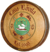 A5-Cava-Davila-Coat-of-Arms-Barrel-Head-Carving