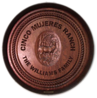C3-Cinco-Mujeres-Ranch-Barrel-Head-Carving