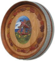 D3-Pheasants-Oak-Leaves-Barrel-Head-Carving