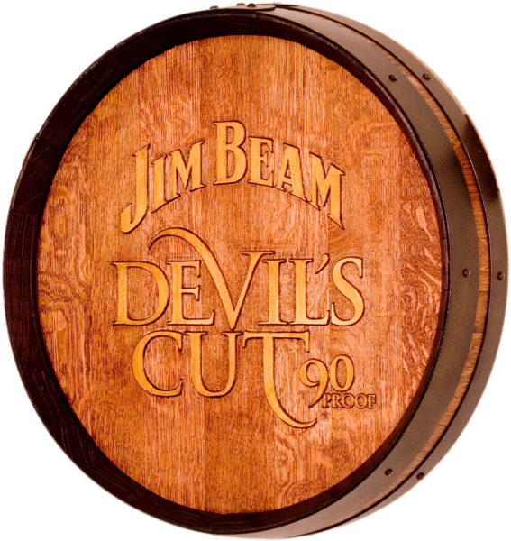 click any image below for a more detailed view description and testimonial authentic jim beam whiskey barrel table